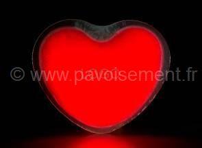 Articles lumineux : coeur