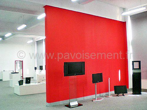 Écran vidéo LCD pour show room