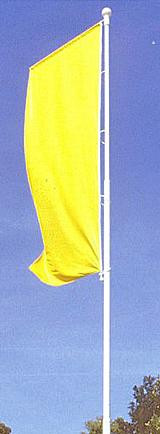 Mât PVC Tradition : avec potence sans drisse