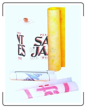 banderole publicitaire - pièces en rouleaux intissé