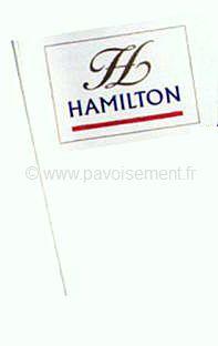 drapeau personnalisé - fanion publicitaire personnalisé sur tige de fer