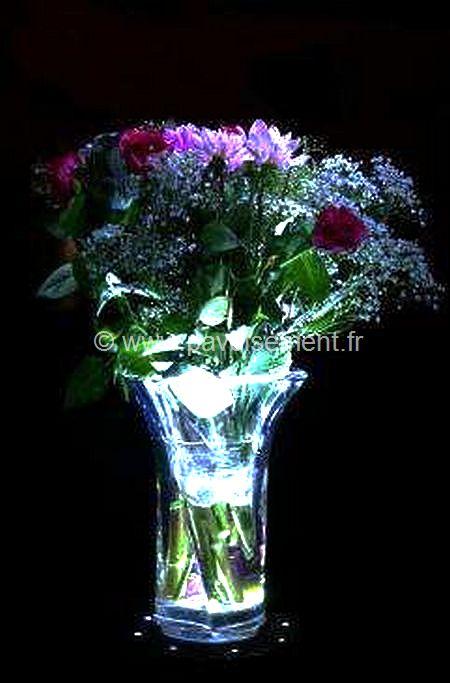 objet lumineux : lampe vase lumineux