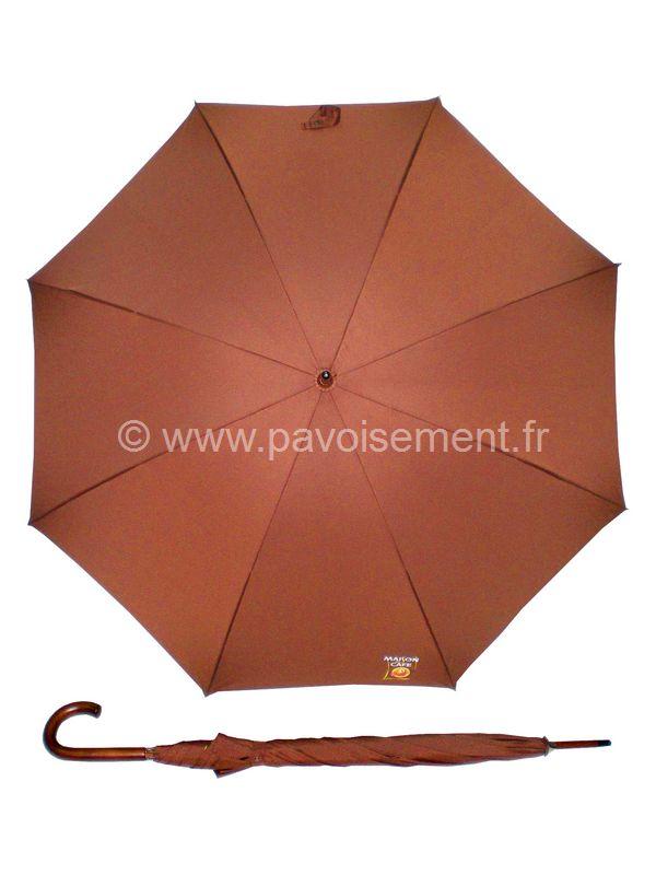 """parapluie personnalisé : modèle """"Café"""""""