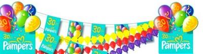 guirlande fanion - guirlande de drapelets cousus sur une biais - Guirlande de papier belle et colorée.