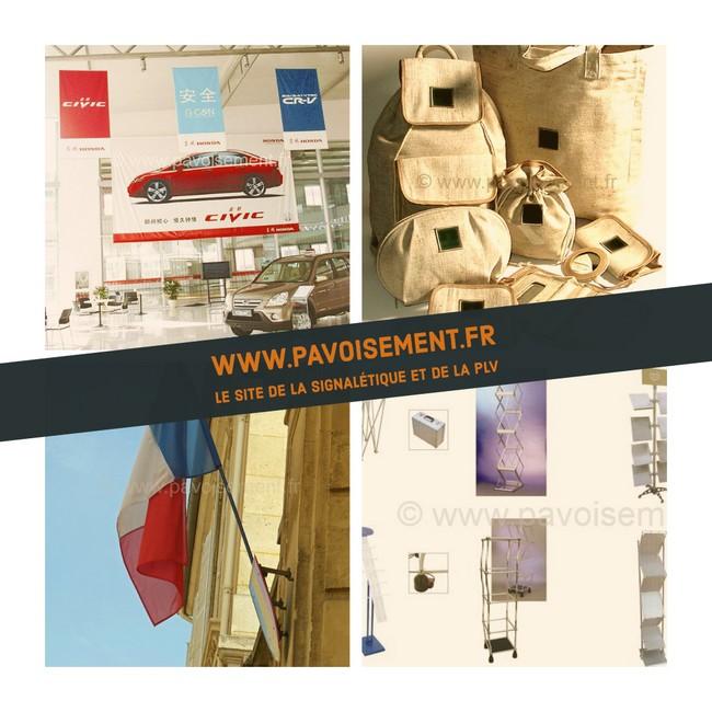 drapeau pub - les différents articles que propose pavoisement.fr